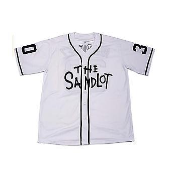 Benny The Jet Rodriguez #30 The Sandlot Movie Baseball Jersey Noël Été