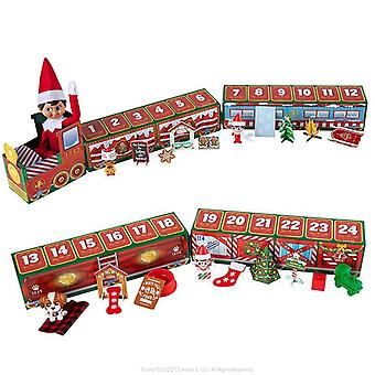 Christmas Countdown Calendar Train Gifts Box Creative Xmas Advent Calendar Toys