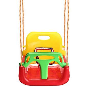Three-in-one Children's Swing Indoor And Outdoor Baby Chair Swing,blue