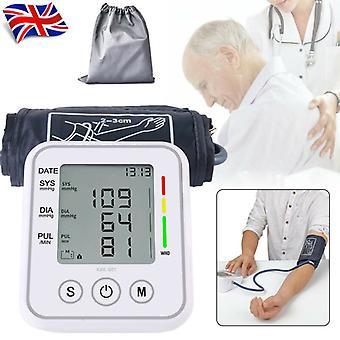 Automatische digitale pols bloeddrukmeter Bp Machine Lcd Sphygmomanometer