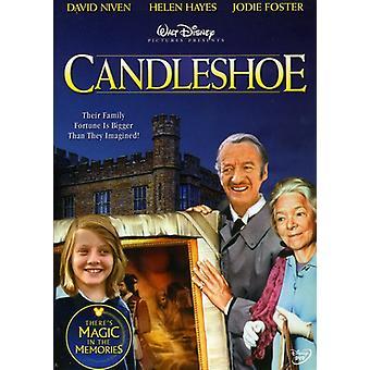 Candleshoe [DVD] USA importerer