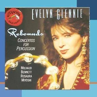 Evelyn Glennie - Rebounds: Concertos for Percussion [CD] USA import