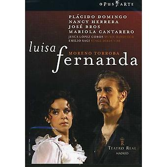 M. Torroba - Moreno Torroba: Luisa Fernanda [DVD Video] [DVD] USA import