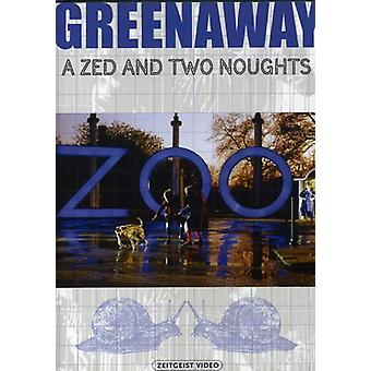 Zed & Two Noughts [DVD] USA import