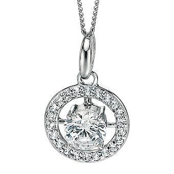 925 zilveren Zirkonia modieuze halsketting