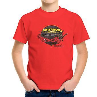 Tartaruga Brothers Teenage Mutant Ninja Turtles Raphael Kid's T-Shirt