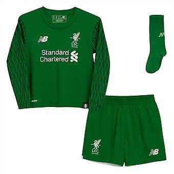 2017-2018 Liverpool Home Torwart Mini Kit