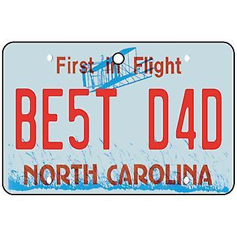 Carolina do norte - o melhor pai refrogerador de ar de carro de placa