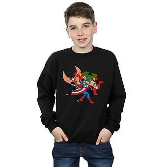 Marvel Boys Avengers Assemble Comic Team Sweatshirt