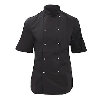 Dennys Womens/Ladies Economy Short Sleeve Chefs Jacket / Chefswear
