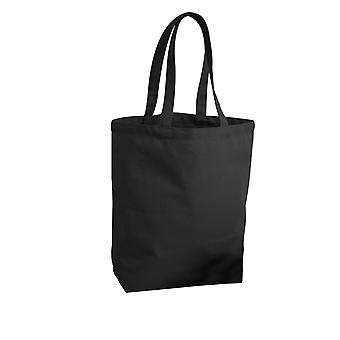 Westford Mill oformaterad rättvisemärkta Camden Shopper / Shopping väska (13 liter)