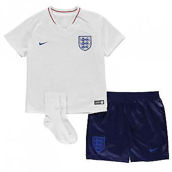 2018-2019 England hjem Nike Baby Kit