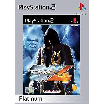 Tekken 4 - Platina (PS2) - Ny fabrik förseglad