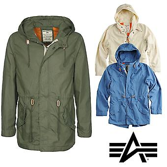 Alpha Industries Herren Übergangsjacke Light Weight Fishtail