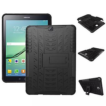 Hybrid outdoor protective cover case black for Samsung Galaxy tab S2 9.7 T810 T815N bag