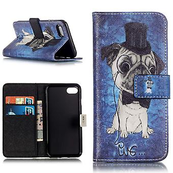 Tasche Wallet Premium Muster 65 für Apple iPhone 7 Hülle Case Cover Etui