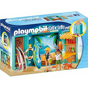 PLAYMOBIL 5641 Surf Shop Zagraj pole, Multi