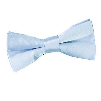 Baby blå almindelig Satin pre-bundet Butterfly for drenge