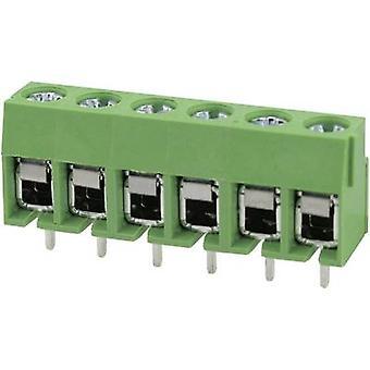 Degson DG126-5.0-02P-14-00AH-1 Screw terminal 2 mm² Number of pins 2 Green 1 pc(s)