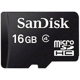 سدسدقم سانديسك--ز 016-B35 microSDHC بطاقة 16 غيغابايت الفئة 4