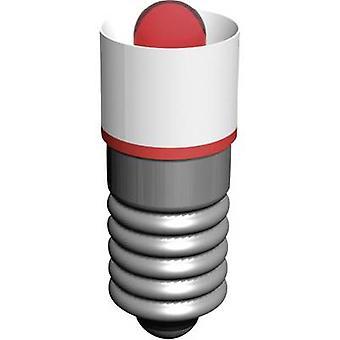 Signal konstruera LED-indikator ljus E 5.5 vit 18 V AC MEDE5563