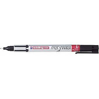Edding 4-405001 تحرير 405 قلم علامة Fineliner الأسود 0.7 مم 1 جهاز كمبيوتر (أجهزة الكمبيوتر)