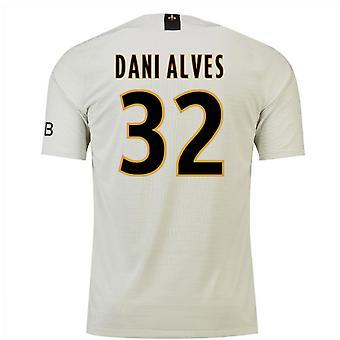 2018-19 weg voetbalshirt van Psg (Dani Alves 32) - Kids