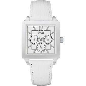 Guess Ladies White Watch Day Date - W10595L1