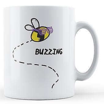 Buzzing Bee - Printed Mug