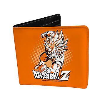 Dragon Ball Z Geldbörse Goku  orange, bedruckt, Kunstleder aus Vinyl.