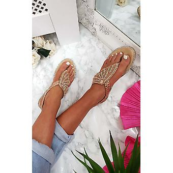 IKRUSH женские орла Diamante украшенные сандалии