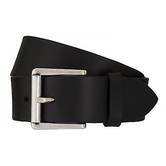 Jeans ceintures de hommes ceintures en cuir TOM TAILOR ceinture ceinture noire 7607