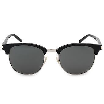 Saint Laurent Semi uten innfatning solbriller SL108 001 52