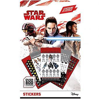 Star Wars 800pc Sticker sæt