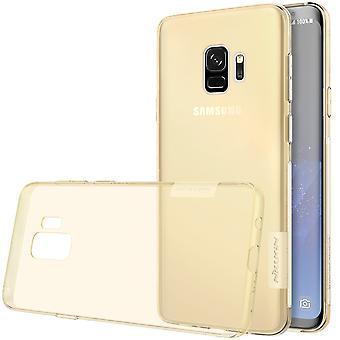 NILLKIN Samsung Galaxy S9 natuur serie 0,6 mm TPU-goud