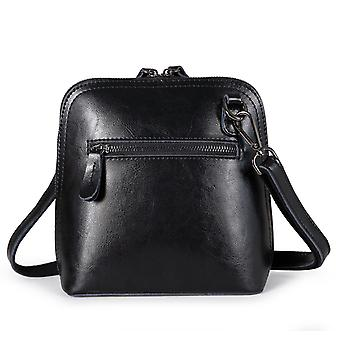 Véritable sac à bandoulière en cuir cow 21x19x10 cm