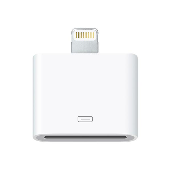 Lightning 30-pin till 8-pin adapter för iPhone, iPad