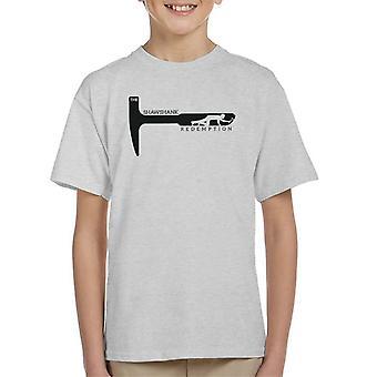 Die verurteilten Rock Hammer Kinder T-Shirt