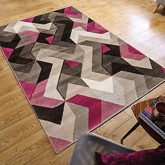 Aurora Rugs In Grey And Purple