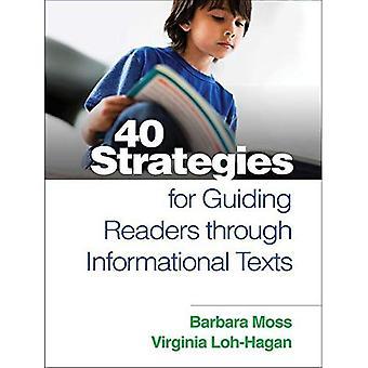 40 strategier för vägledande läsare genom informativa texter