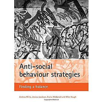 Anti-soziales Verhalten-Strategien: Ein Gleichgewicht [illustriert]