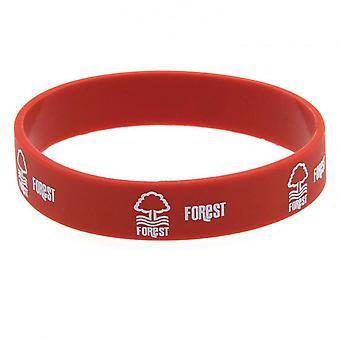 Nottingham Forest FC officiële siliconen armband