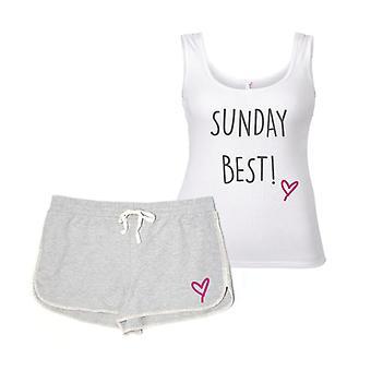 Söndag bästa pyjamas Set