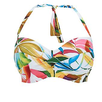Fantasie Boca Chica Fs6033 Wpm Underwired, Padded, Multi-way Bandeau Bikini Top