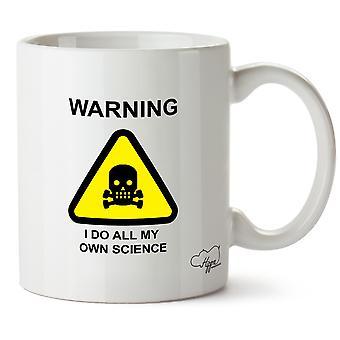 Hippowarehouse ostrzeżenie I zrobić mój własny kubek drukowanych nauki Kubek ceramiczny 10oz
