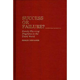 Succes of mislukking gezinsplanning programma's in de derde wereld door Hernandez & Donald J.