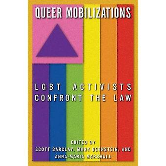 奇妙な動員 LGBT の活動家バーンスタイン ・ メアリーによって法律に直面します。