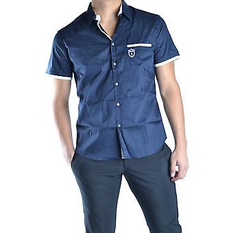 Chemise Cesare Paciotti Ezbc112012 Men-apos;s Blue Cotton