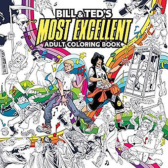 Bill & Ted's Most Excellent Coloring Book by Bachan - 97816841504