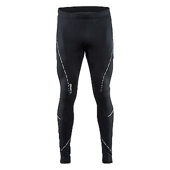Craft Mens Essential Polyester and Elastane Running Tights